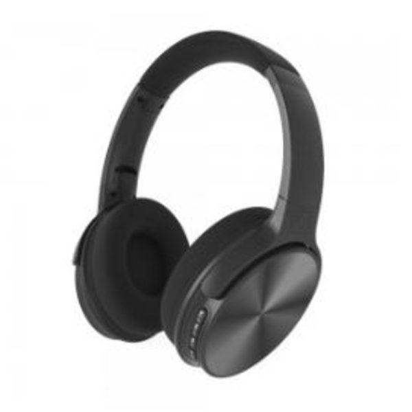 Casque Audio sans fils coloris noir – ekkom
